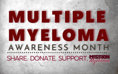 Ready to Rumble for Multiple Myeloma In March